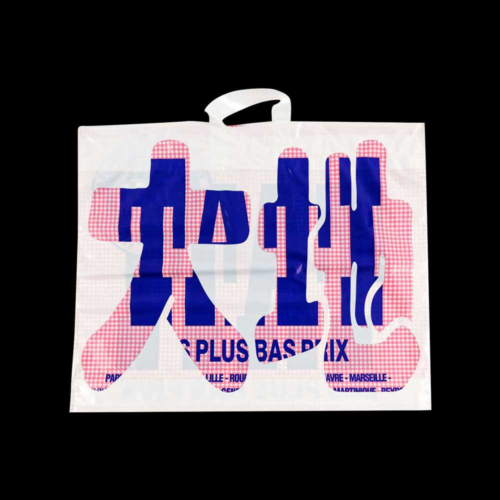 Creation of twelve collector shopping bags for TATI – one per month during a year – for the 50th anniversary of the brand, FLUX Agency - Cyrille Putman, 1998.