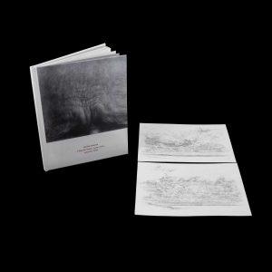 Michel Houssin Édition de tête signée et numérotée de 1 à 16, accompagnée d'un dessin original de nuages 19 x24. Éditions Cyrille Putman à l'occasion de l'exposition à la Chapelle Ste Anne, Arles.
