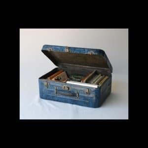 Raymond Hains « La valise » Bronze à la cire perdue patiné 42 x 31 x 35 cm