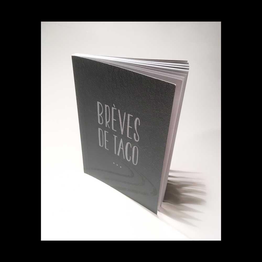 Damien Monteux, Brèves de TACO, Edition limitée à 300 exemplaires / Mars 2019